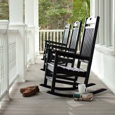 Trex Outdoor Furniture Recycled Plastic Yacht Club Rocking Chair