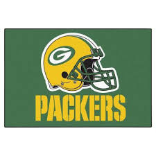 green bay packers 2 ft x 3 ft area rug