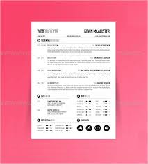 One Page Resume Template New One Page Resume Templates One Page Resume Templates Free Samples
