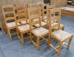 stylist design ideas rush seat dining chairs set of ten light oak ladderback sold french country