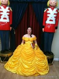 custom made belle beauty and the beast costume gown c