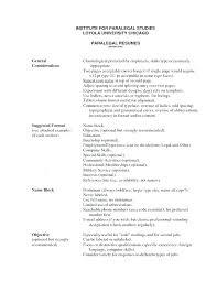 Paralegal Resume Skills Inspiration Sample Paralegal Resume Simple Resume Template Format