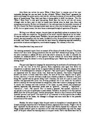 analysis of when i have fears by john keats international page 1 zoom in