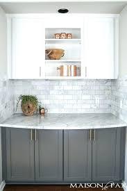 grey and white kitchen backsplash for white kitchen cabinets gray and white and marble kitchen reveal grey and white kitchen backsplash