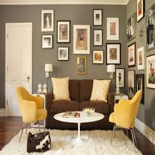 mustard yellow furniture. Yellow Chairs Brown Sofa And Grey Wallskaryn R Millet For Mustard Living Room Ideas Furniture O