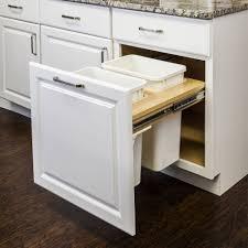 Kitchen Cabinet Garbage Drawer Kitchen Cabinet Garbage Can 11 Home Decor I Furniture