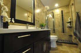 bathroom remodel black vanity. Exellent Bathroom Bathroom  Small Remodel Black Vanity Marble On Top Modern Toilet  Tile Shower Base Luxury Mirror Throughout