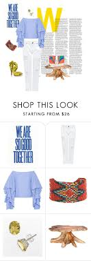 Color Blockin' by paigejeter on Polyvore featuring Rosie Assoulin, Edit,  Paula Cademartori and