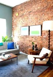 red brick fireplace accent wall cool interior paint colors that go with red brick contemporary red