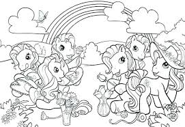 Rainbow Pony Coloring Pages My Little Pony Color Pages Elegant My