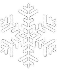 Snowflake Drawing Template At Paintingvalley Com Explore