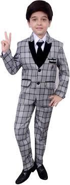 Pant And Shirt Arshia Fashions Coat Pant Shirt Tie Checkered Boys Suit Buy