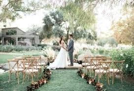 garden wedding venues in southern california rustic outdoor wedding ceremony at weddings downs botanical gardens weddings