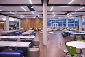 office cafeteria design. Magnificat High School Surround Learning | Blog For The Cafeteria DecorCafeteria DesignOpen Space OfficeMultipurpose Office Design -