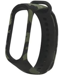 Smart <b>Watch</b> Accessories - <b>Camouflage</b> Replacement <b>Silicone</b> Wrist ...