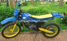honda tlr 200cc hire in hanoi offroad vietnam dirt bike rental