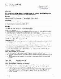 Senior Accountant Resume Sample 60 Luxury Senior Accountant Resume emsturs 38