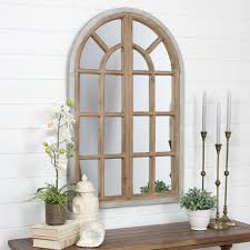 Do all things with love rustic wall art. Farmhouse Arch Window Mirror Wall Decor Art Home Rustic Modern Wooden 43 X 28 Ebay