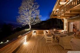 lighting design ideas. Eclectic Deck With White Accent Tree Lighting Design Ideas