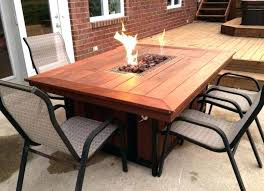 outdoor dining set with fire pit large size of patio most seen images in the magnificent