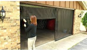 18ft garage door fresh air screens ft x 7 ft 3 zipper garage door screen with 18ft garage door