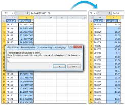 Excel Round Formulas Asap Utilities For Excel Blog Tip Quickly Round The
