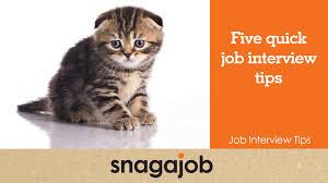 job interview tips part five quick job interview tips job interview tips part 1 five quick job interview tips