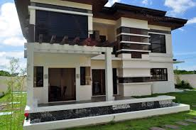 Two Story Modern Villa Design And All Interior DesignsTwo Storey Modern House Designs