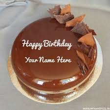 Happy Birthday Cake With Name Edit Online Free Birthdaycakeformomcf