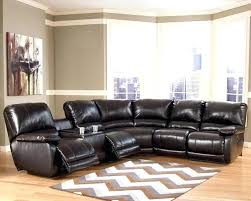 Elegant Reclining Sectional With Chaise And Recliner Couches