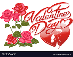 Valentines Flyers Holiday Flyers Happy Valentine S Day Vector Image On Vectorstock