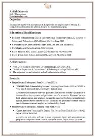 Resume Templates For It Freshers Download. 28 resume templates for ...