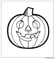 Holloween Kleurplaten Print Kleurplaten Halloween Pompoen Dwacme