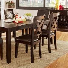 discount kitchen dining chairs. rosi black leather dining chairs (set of 6) (bonded leather) discount kitchen
