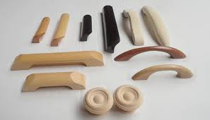 natural material drawer wood door knobs