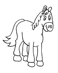 Printable Coloring Pages Horses Color Pages Of Horses Baby Horse
