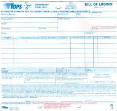 bill of lading printable form generic bol form bill of lading sample doc pasoevolistco 58