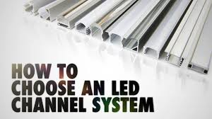 Aluminum Channel Chart How To Choose An Led Channel System