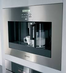 New Gorenje built-in self cleaning coffee machine with Auto Cappuccino  function