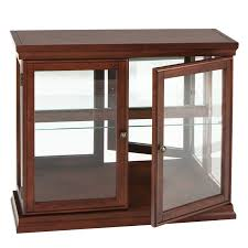 Glass Curio Cabinets With Lights Small Curio Cabinet With Glass Doors Best Home Furniture Decoration