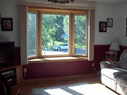 Wood Window Treatments Ideas Fine Kitchen Small Bay Window Curtains 17 Simple But Adorable