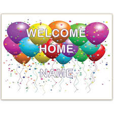 printable welcome home banner template new house new baby a welcome home sign template for word will help