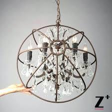 chandeliers metal orb chandelier chandeliers crystal antique black clear chandel metal orb chandelier