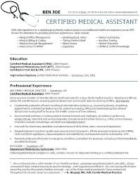 Examples Of Healthcare Resumes Best Sample Resume For Medical School Graduate Of A Assistant Examples