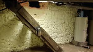 stone basement crawl space repair spray foam insulation covers stone basement walls stone basement walls crumbling