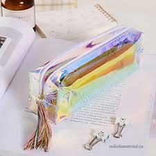 Zhuhaijq PVC Pencil Cases Cool Pencil Holders Writing Supplies Zipper Bag  Waterproof   B07FRJVM93
