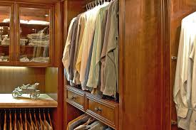 a brown cherry wood finish is perfect for a man s closet