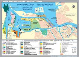 Таможенный брокер в Санкт Петербурге СПБ стоимость услуг   jpgКарта Морского порта Санкт Петербурга