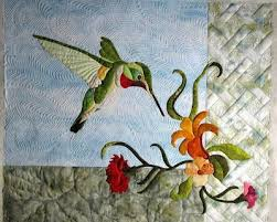 211 best Quilt Hummingbird Ideas images on Pinterest | Painting ... & The Secret Life of Mrs. Meatloaf: Sparky the hummingbird Adamdwight.com