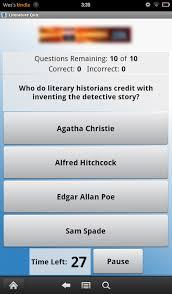 review discussion section Genius Literature Quiz Lite  screenshot